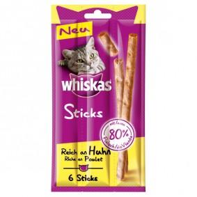 Whiskas Sticks Katzensnacks 80% Fleisch