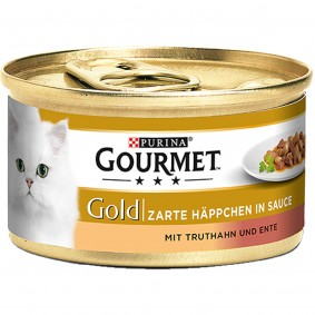 Gourmet Gold Zarte Häppchen Truthahn&Ente