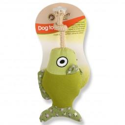 Earthy Pawz Holz Hundespielzeug Fisch 13×27cm