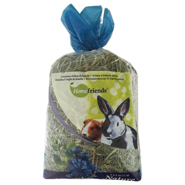 Hugro Kleintier-Heu Premium Kornblume Birkenblätter 500g