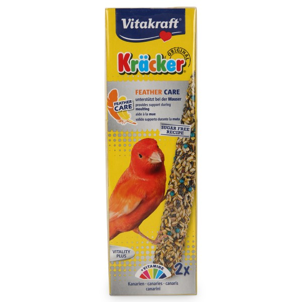 Vitakraft Kräcker Feather Care 2er Kanarien