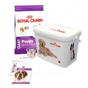 Royal Canin GIANT Puppy Hunde-Starterpaket für Welpen