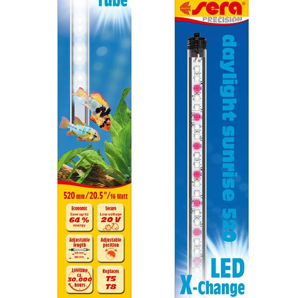 LED X-Change Tubes 520mm - daylight sunrise