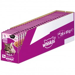 Whiskas Adult 1+ Ragout mit Lachs in Gelee