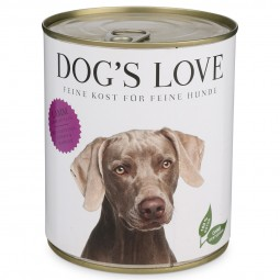 Dog's Love Nassfutter Classic Lamm mit Kartoffel, Kürbis & Marille