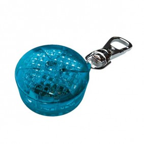 Trixie Safety Light Flasher - Sicherheitsanhänger ø 3,5cm in blau