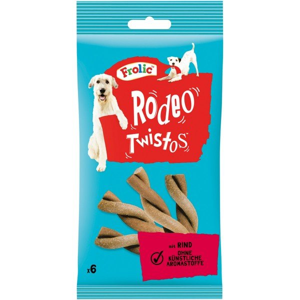 Frolic Hundesnack Rodeo Twistos Rind