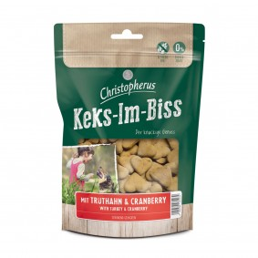 Christopherus Snacks Keks-Im-Biss Mit Truthahn & Cranberry 175 g