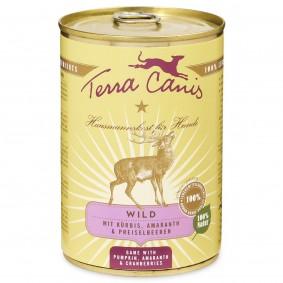 Terra Canis se zvěřinou, dýní, amarantem abrusinkami