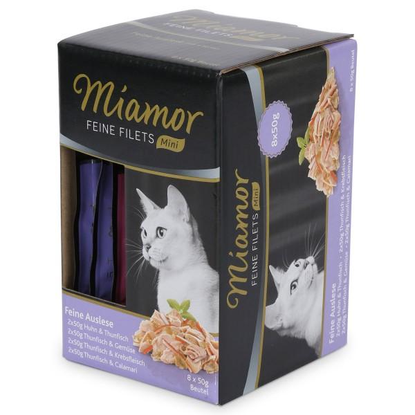 Miamor Feine Filets Mini Multibox Feine Auslese 8x50g