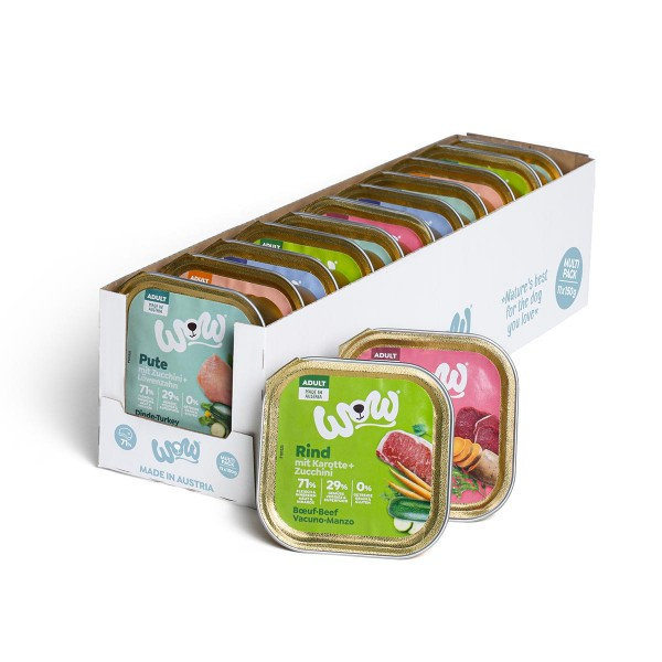 WOW Adult Multipack 11x 150g