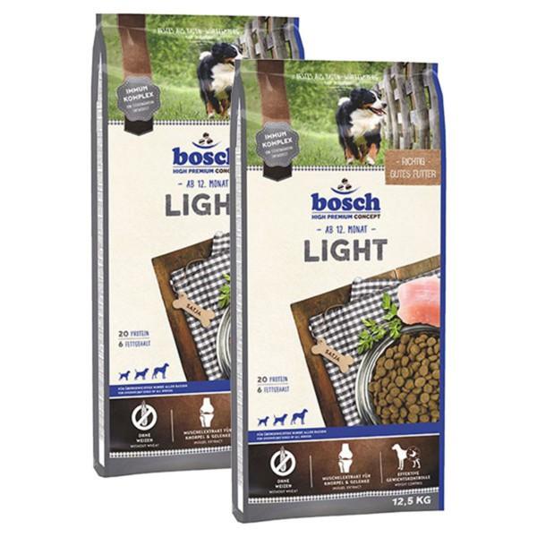 Bosch Hundefutter Light 2x12,5kg