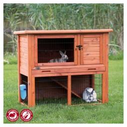 Trixie NATURA Kaninchenstall mit Freigehege 104