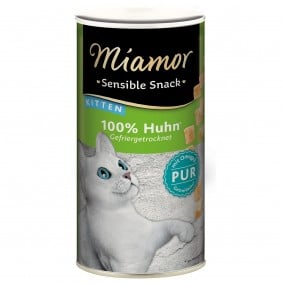 Miamor Sensible Snack Kitten Huhn Pur
