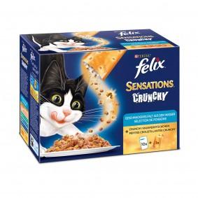 Felix Sensations Crunchy Crumbles 10er Pack