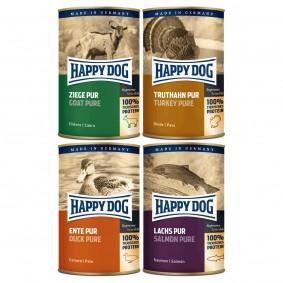 Happy Dog Pur 48x400g Mixpaket 2
