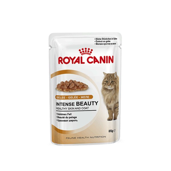 royal canin katzenfutter intense beauty in gelee 12x85g. Black Bedroom Furniture Sets. Home Design Ideas