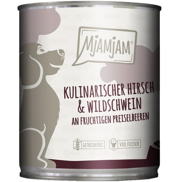MjAMjAM kulinarischer Hirsch&Wildschwein an Preiselbeeren