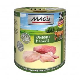 MAC's Dog Kaninchen und Gemüse
