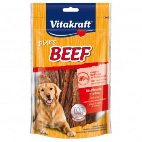 Vitakraft Hundesnack pure Beef Rindfleischstreifen 80g