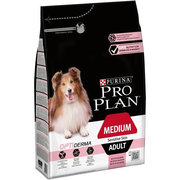Pro Plan OPTIDERMA reich an Lachs für Hunde mit sensibler Haut
