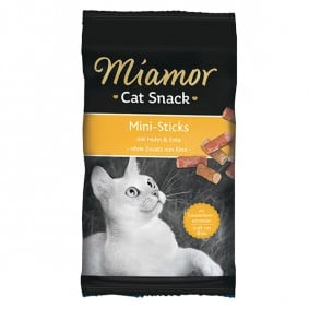 Miamor Cat Snack Mini-Sticks Huhn+Ente 50g