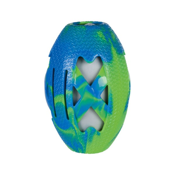 Trixie Rugbyball TPR/Stoff 15 cm