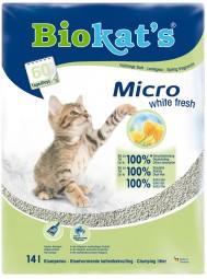 Biokat's Katzenstreu Micro White Fresh
