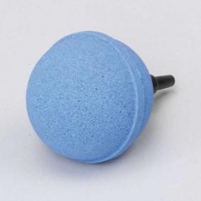 Teich-Kugel-Auströmerstein blau