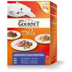 Gourmet Mon Petit Fisch Variationen 6x50g