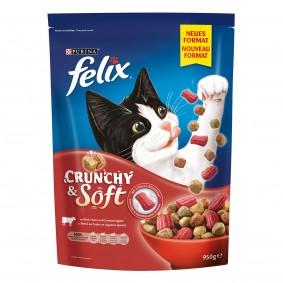 FELIX Crunchy & Soft Rind 950 g