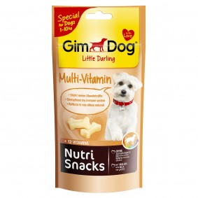GimDog Nutri Snacks MultiVitamin 40g