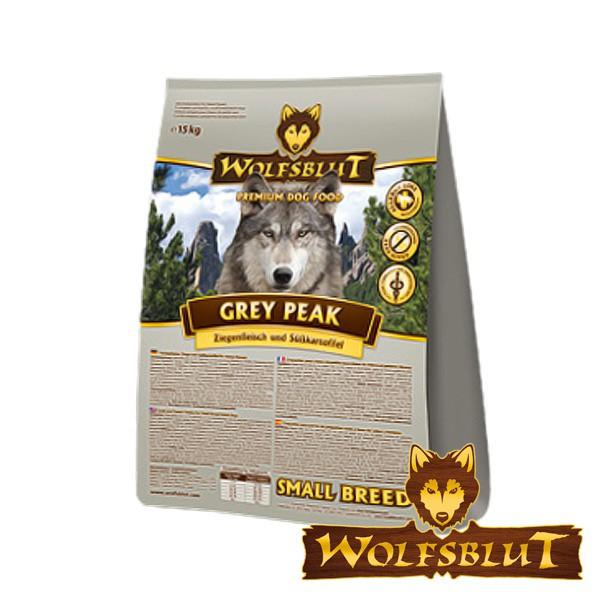 Wolfsblut Grey Peak kleine Rassen Ziege & Süßkartoffel