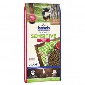Haasow Angebote bosch Tiernahrung Bosch Hundefutter Sensitive Lamm & Reis - 15kg